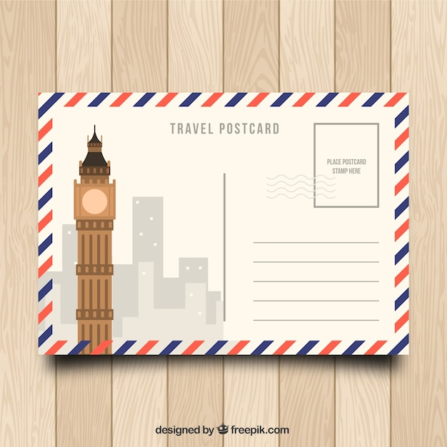 Postcard Vectors, Photos and PSD files Free Download