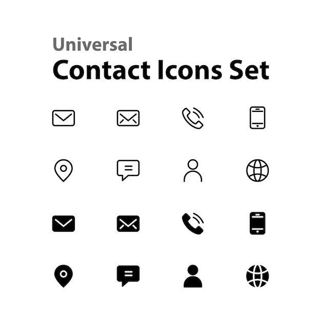 icone adresse mail a mettre sur cv