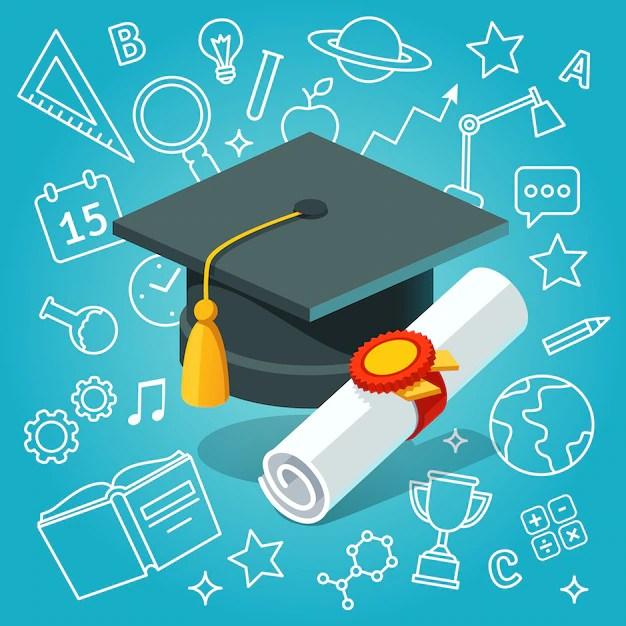 Graduation Vectors, Photos and PSD files Free Download