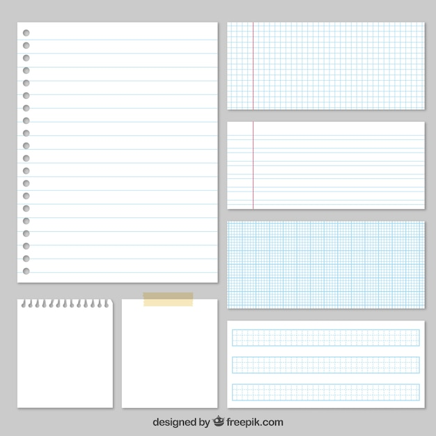 Sheet Of Paper Vectors, Photos and PSD files Free Download