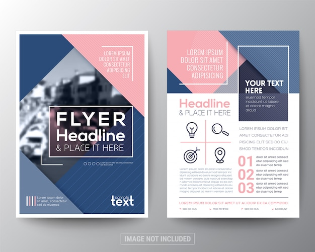 Vector brochure flyer design layout template Vector Premium Download