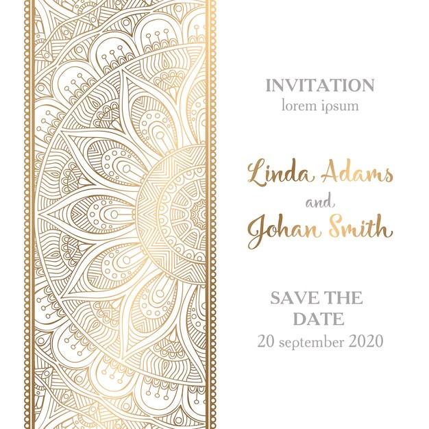Muslim wedding invitation cards vector invitationswedd muslim wedding vectors photos and psd files free stopboris Gallery