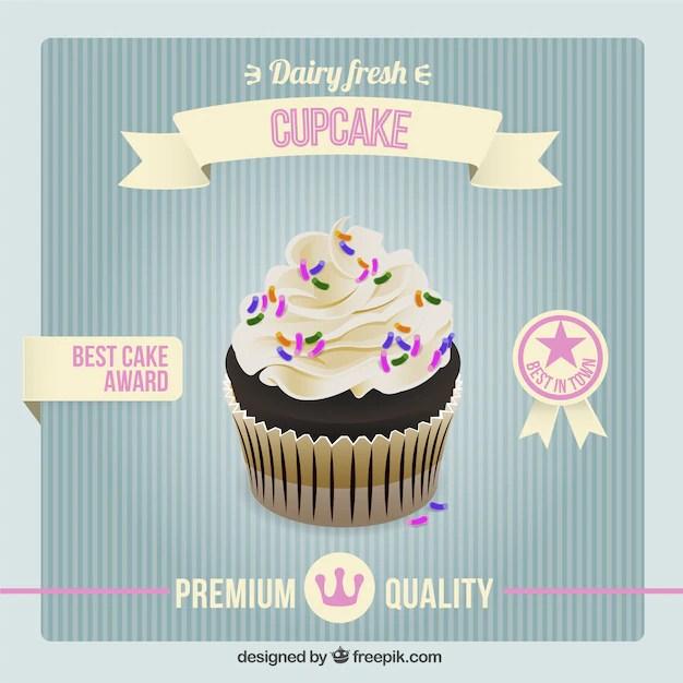 cupcake poster template - Josemulinohouse