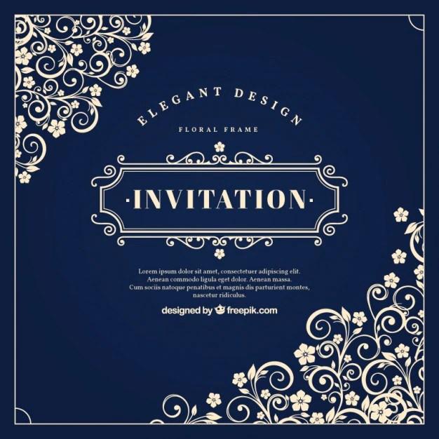 Invitation card sample psd invitationswedd invitation vectors photos and psd files free stopboris Gallery
