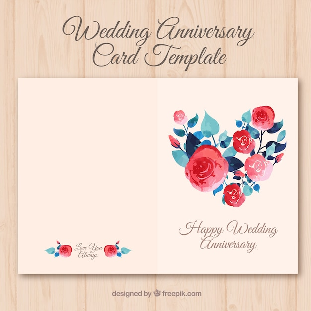 Free Vector Wedding Anniversary Cards - Clipart Vector Design \u2022