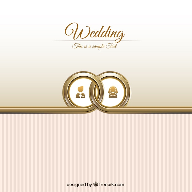 Wedding card template Vector Free Download - wedding card template
