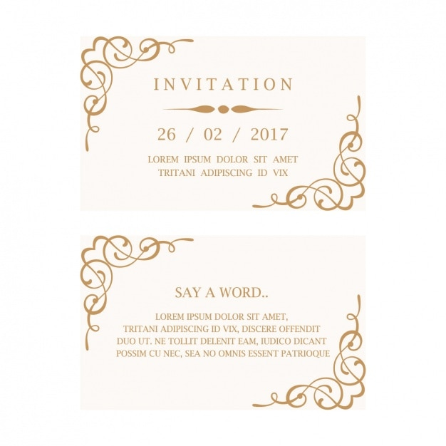 invitation cards free download - Onwebioinnovate - create invitation card free download