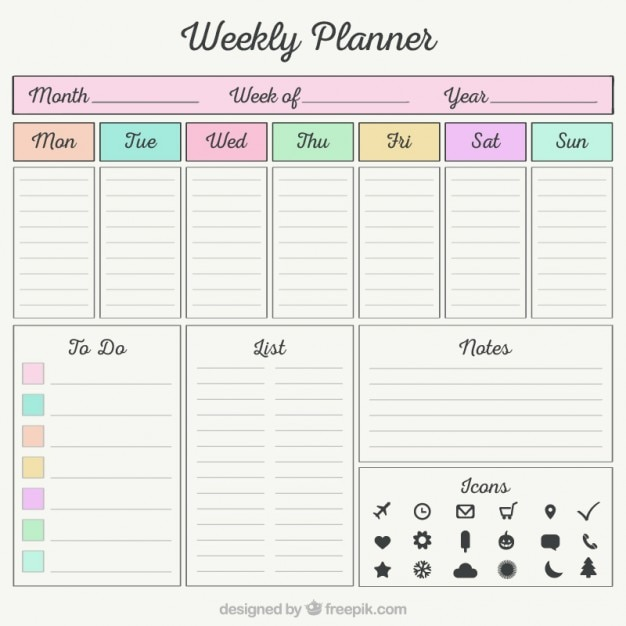 free daily planner download 41 Free daily planner download – Free Download Daily Planner
