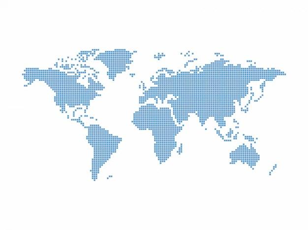 World map theme vector graphic art design illustration Vector