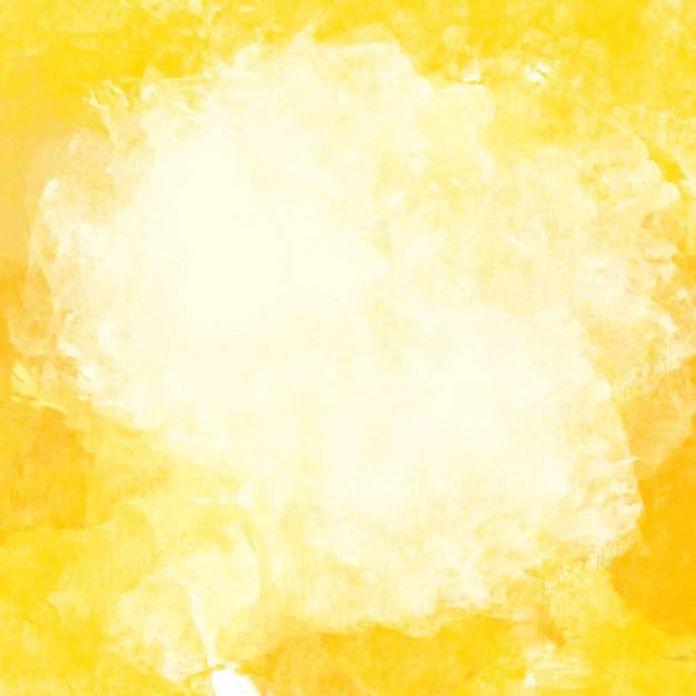 Cute Mandala Wallpaper Yellow Watercolor Background Vector Free Download
