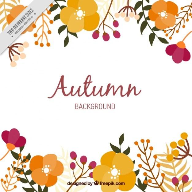 Fall Flowers Wallpaper Free Arri 232 Re Plan De Fleurs D Automne T 233 L 233 Charger Des