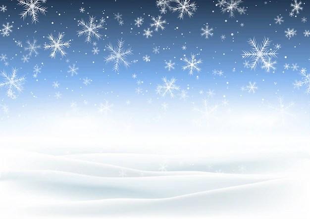 Christmas Wallpaper Snow Falling Paysage Enneig 233 De No 235 L T 233 L 233 Charger Des Vecteurs
