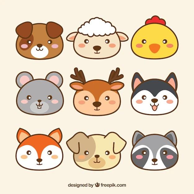 Cute Pug Wallpaper Cartoon Bonita Colecci 243 N De Animales Kawaii Descargar Vectores