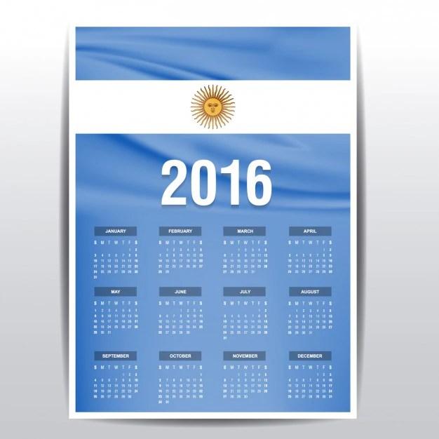 Photo Calendar Vector 9 Photo Calendar Template 9 Free Psd Vector Eps Png Calendario De 2016 De Bandera De Argentina Descargar