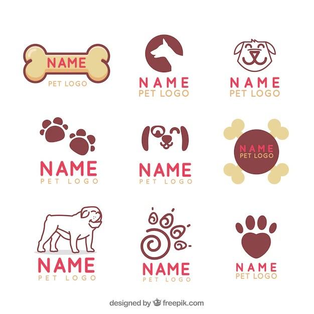 Cute Slogan Wallpaper Colecci 243 N De Logotipos De Veterinaria Descargar Vectores