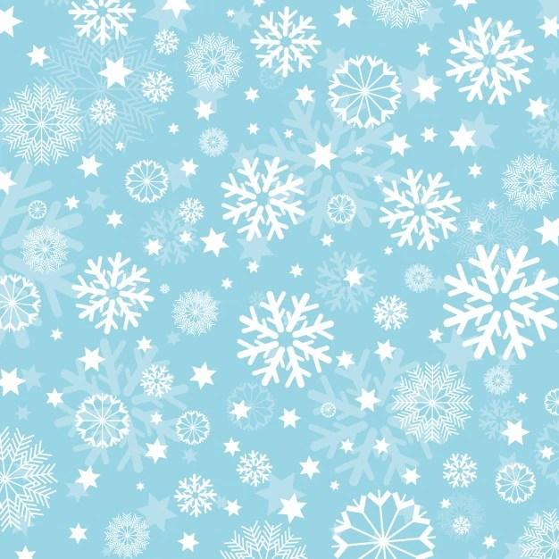 Floral Print Iphone Wallpaper Copos De Nieve Sobre Fondo Celeste Descargar Vectores Gratis