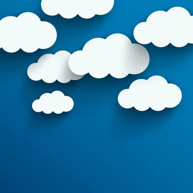 Fondo de nubes Descargar Vectores gratis - fondo nubes