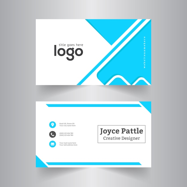 Premium Corporate Business Cards Image collections - Card Design And