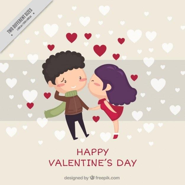 Cute Sweet Couple Hd Wallpaper Casal Se Beijando Vetores E Fotos Baixar Gratis