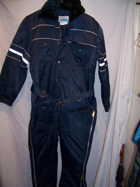 Snow And Ski Clothing Sears - Vintage Sears Insulated Snowmobile Snow Suit, M