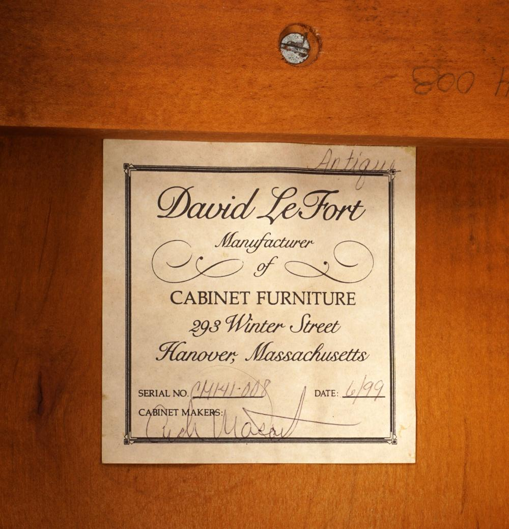 Sold Price David Lefort Tiger Maple Tavern Table Invalid Date Edt