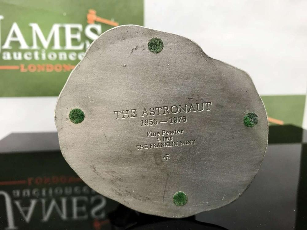 Franklin Mint Pewter Quotthe Astronautquot Neil Armstrong 1956