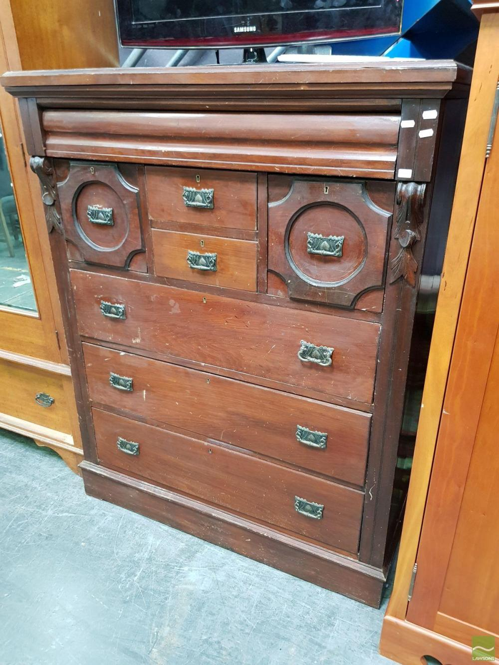 Victorian Pine Chest Of Drawers Victorian Pine Chest Of Drawers