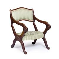 A Victorian prayer chair