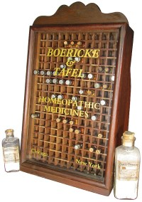 Homeopathic Medicines Store Display Cabinet
