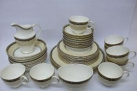 Royal Doulton Baroness pattern tea and dinnerware