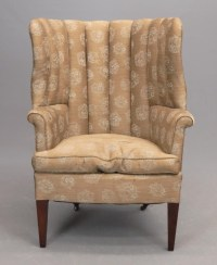 Hepplewhite Style Wing Chair
