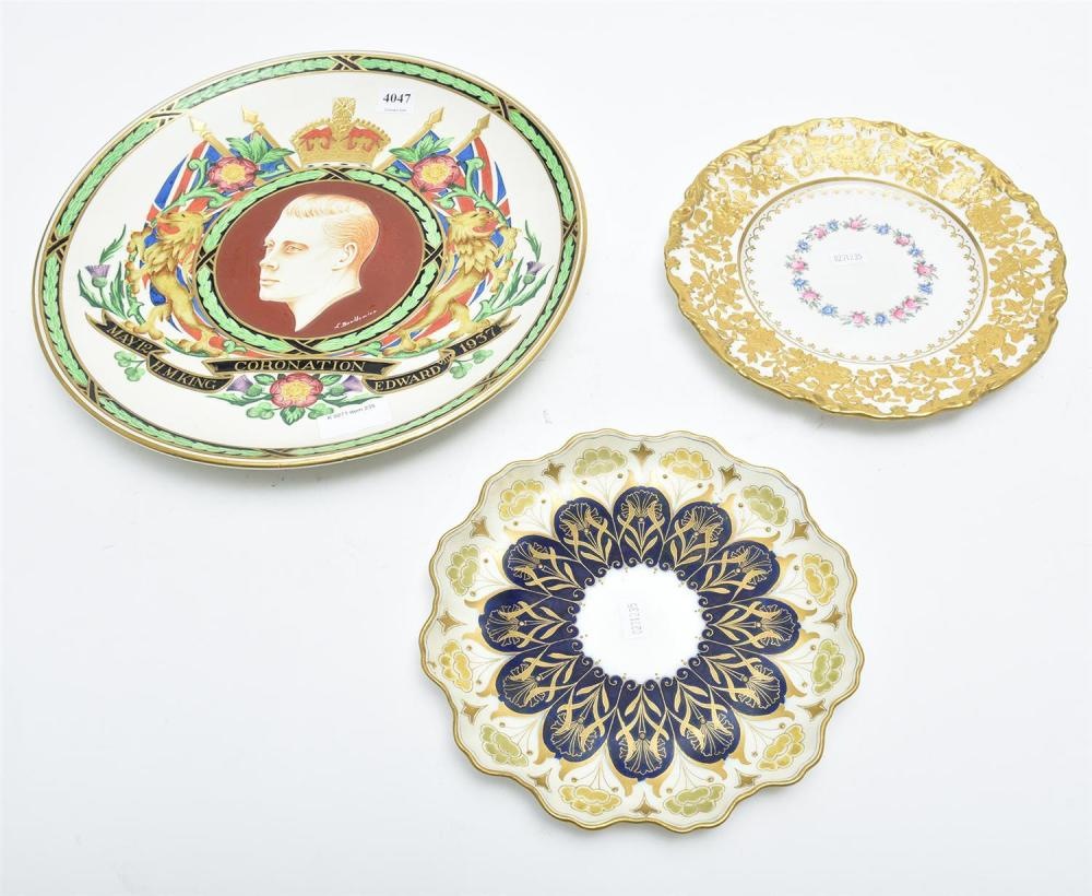 A Collection Of Cabinet Plates