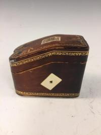 20th C. Vintage Card Deck Holder