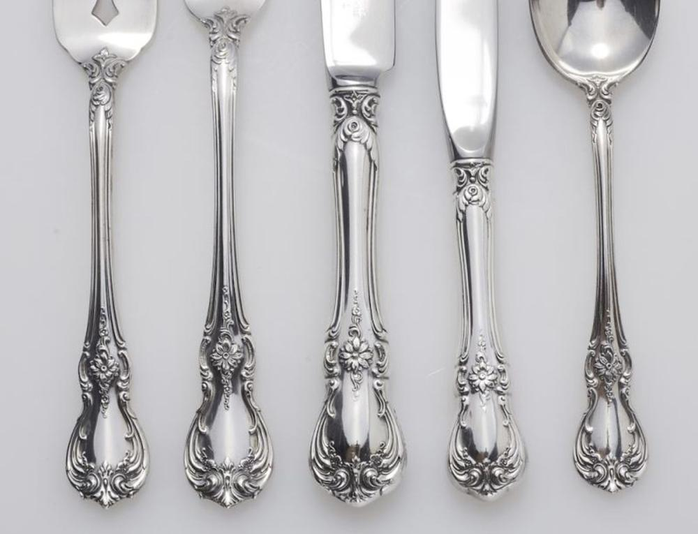 Towle Old Master Sterling Silver Flatware Set