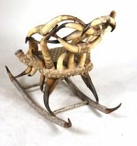 Victorian Horn Rocking Chair