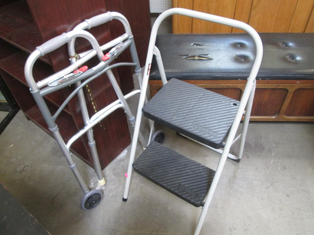 Cosco Two Step Folding Step Ladder Folding
