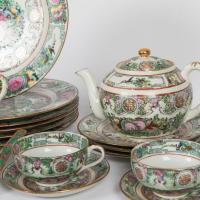 Rose Medallion Dinnerware Set