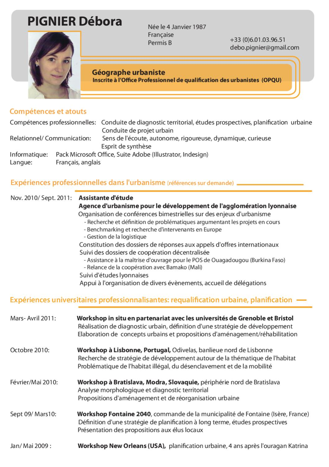 competences professionnelles cv relationnel