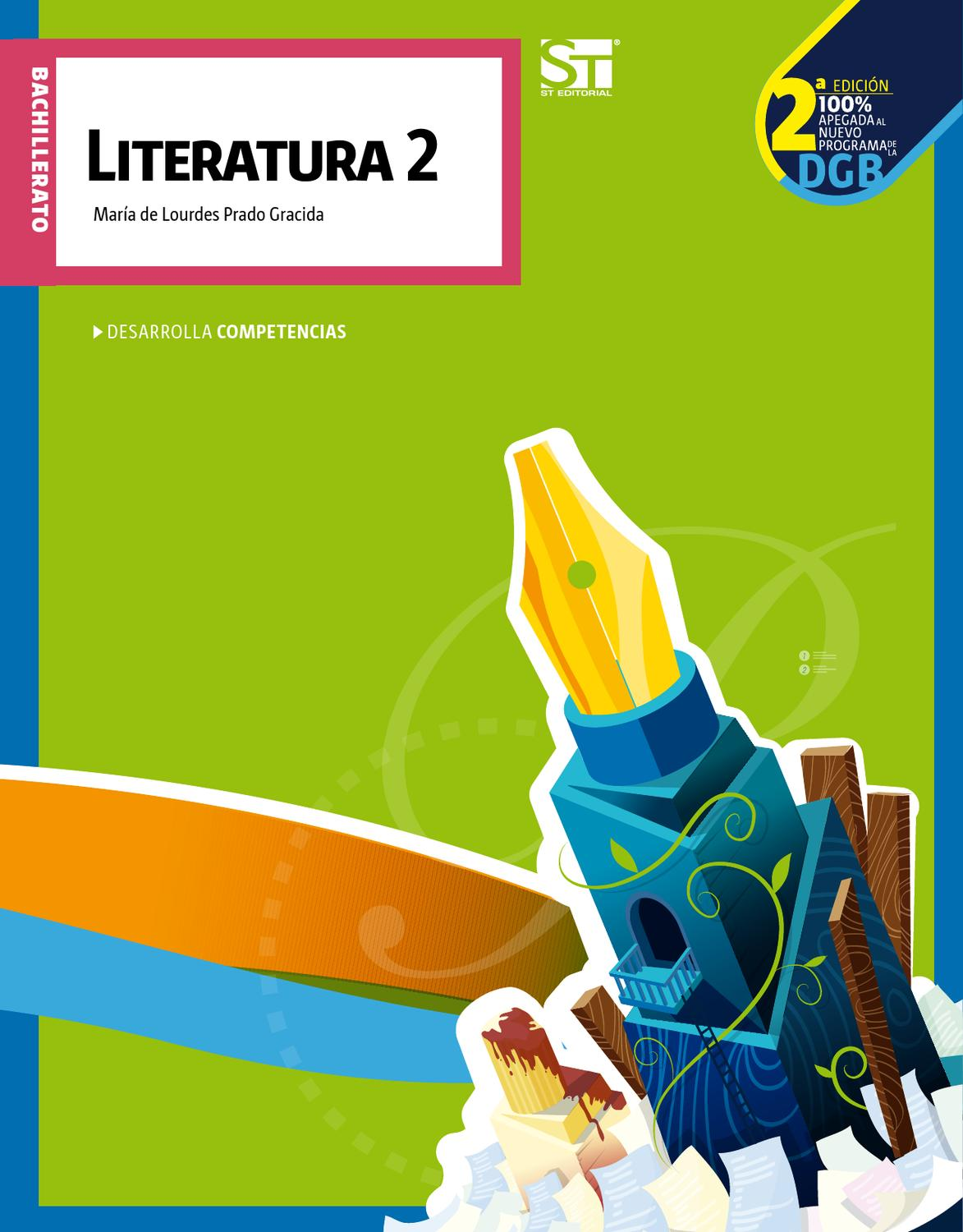 Amazon Libros De Texto Bachillerato Literatura 2 By Eseté Editorial Issuu