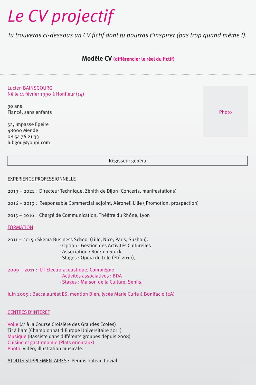 modele cv pages ipad