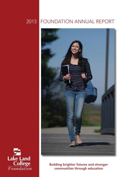 LLC Foundation Annual Report 2013 by Kelly Allee - issuu