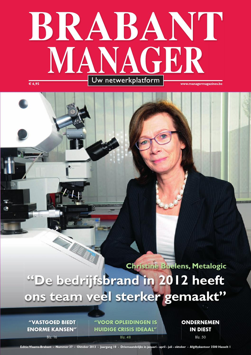 Wasmachine Logo Brabant Manager 37 By Manager Magazines - Issuu