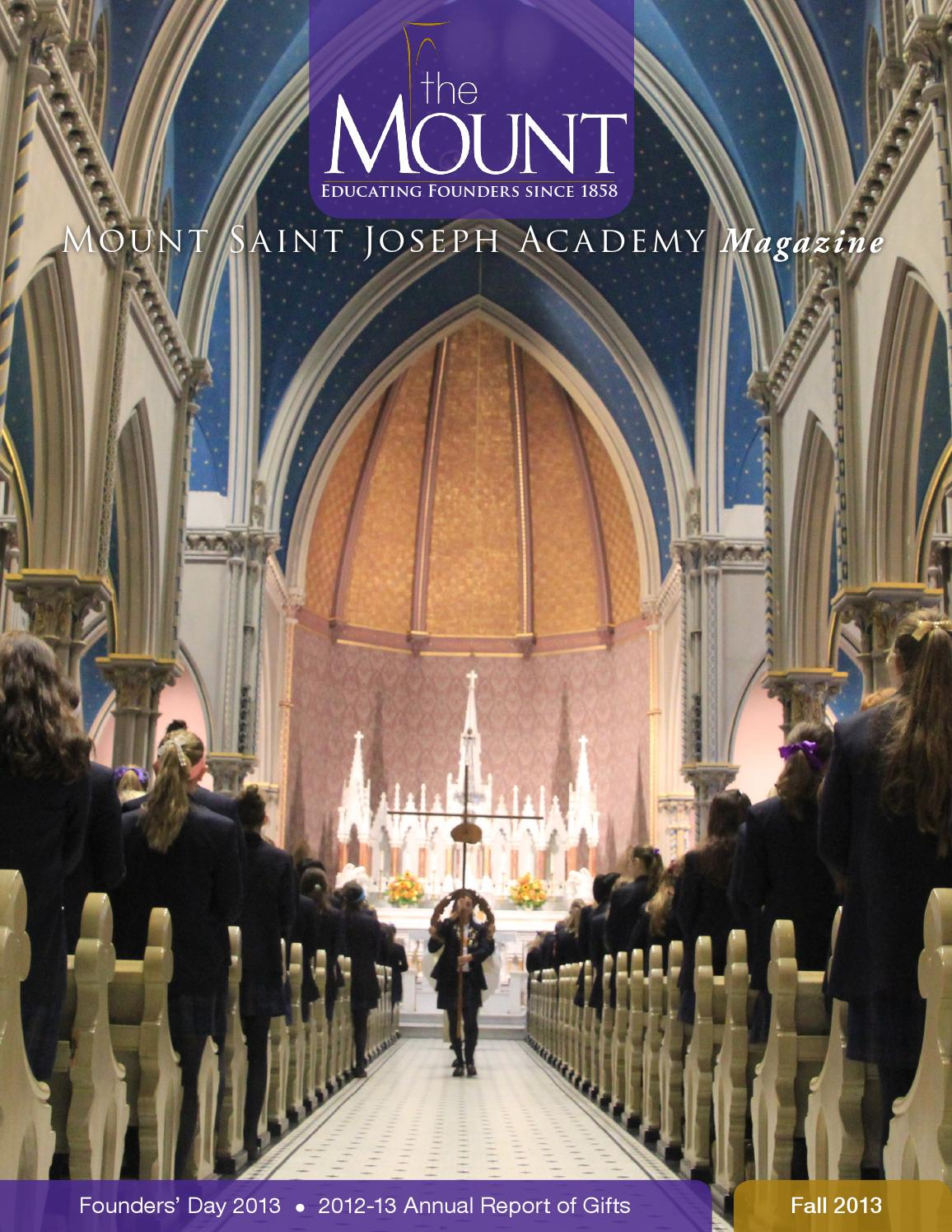 Kelly Services Grenoble Mount Magazine Fall 2013 Annual Report By Mount Saint