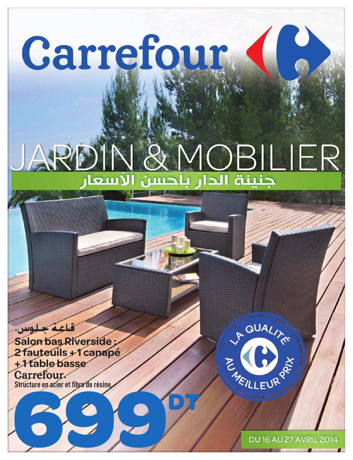 Riverside Salon De Jardin Catalogue Carrefour Quotjardin Et Mobilier Quot By Carrefour