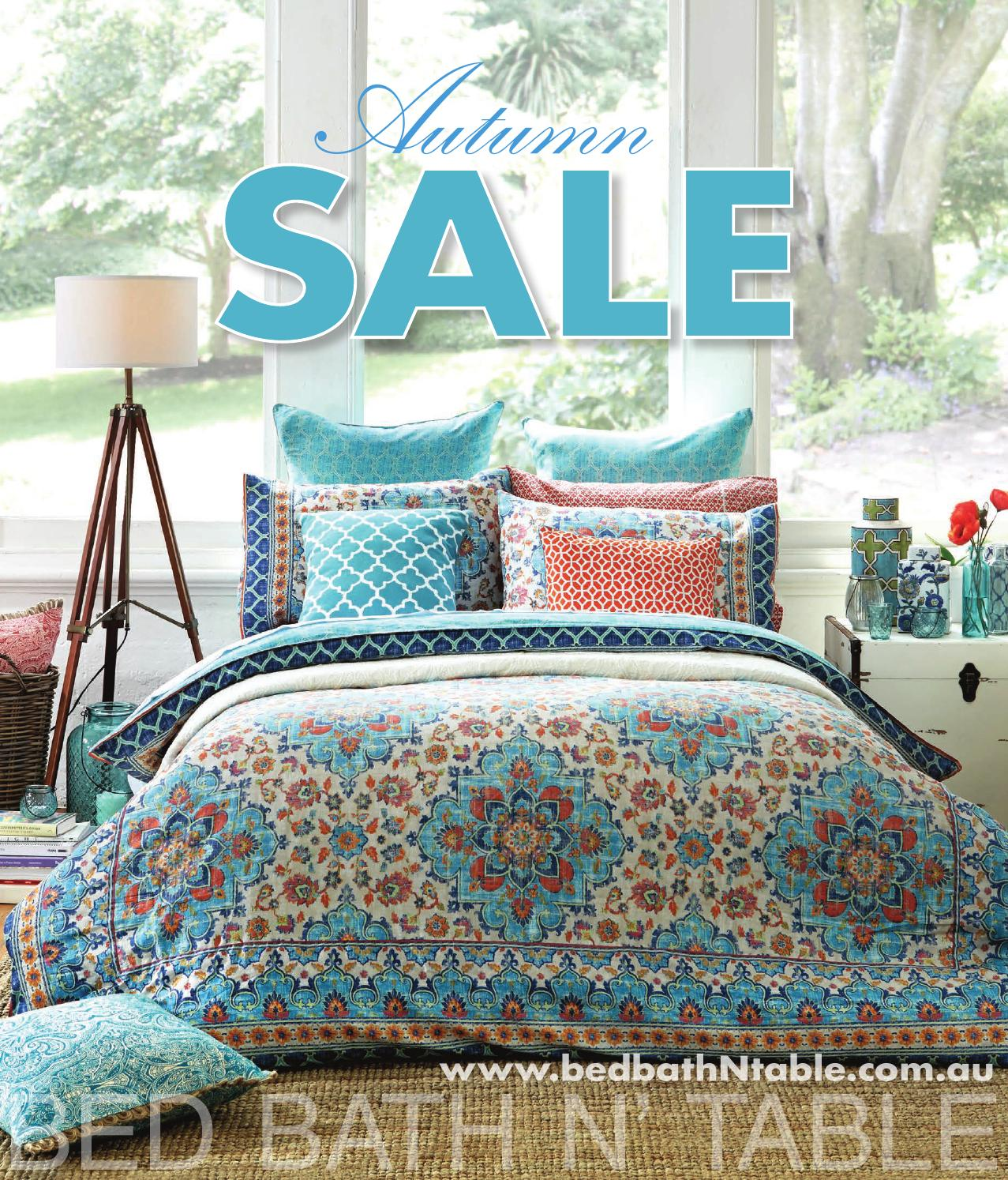 Australian Online Catalogues Bed Bath N 39 Table April Catalogue 2015 By Bed Bath N