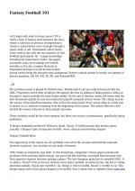 ISSUU Fantasy Football By Judibolaonline