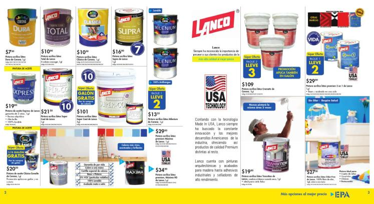 pinturas lanco made in usa