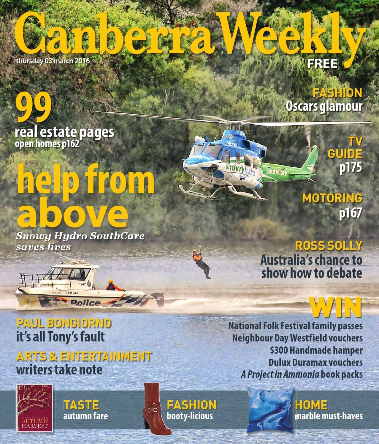 Tv For Sale Canberra 03 March 2016 By Canberra Weekly Magazine Issuu