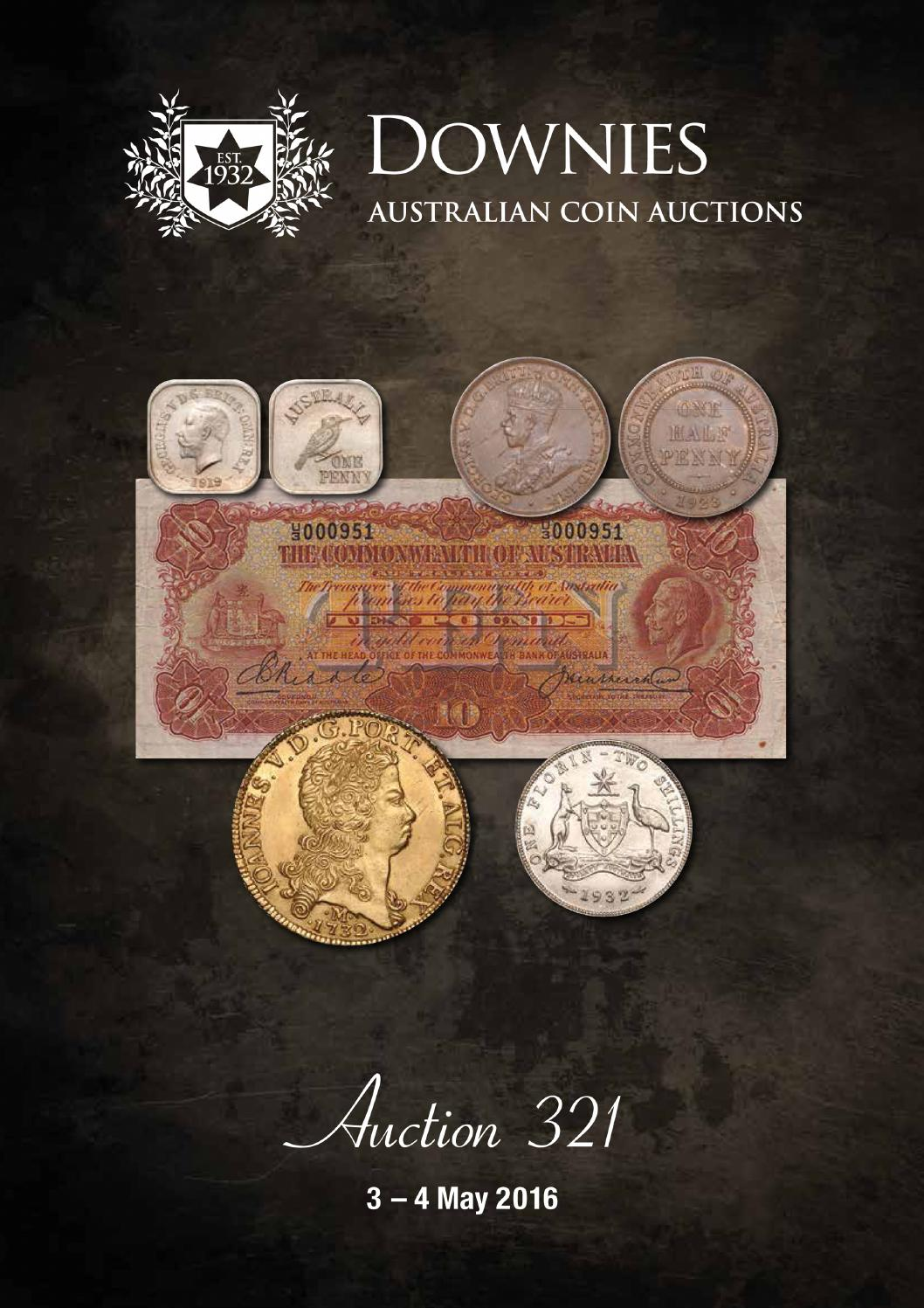 Australian Online Catalogues Australian Coin Auctions Sale 321 Catalogue By Downies Issuu