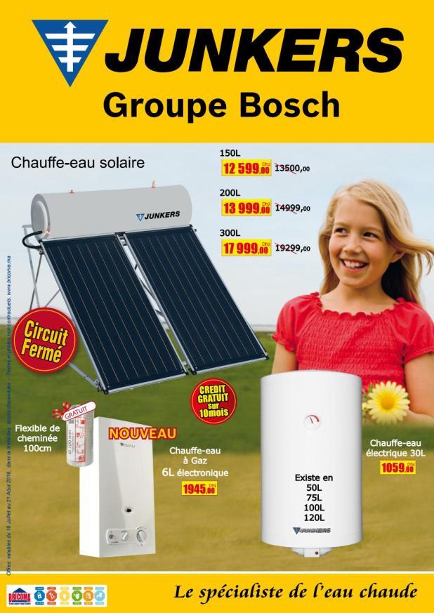 chauffe eau solaire bricoma